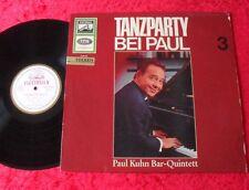 Paul Kuhn Bar-Quintett LP Tanzparty bei Paul 3 (Electrola SME 83 313)