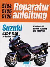 WERKSTATTHANDBUCH REPARATURANLEITUNG WARTUNG 5124 SUZUKI GSX 1100 FL ab BJ 1988