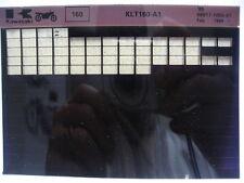 Kawasaki KLT160 1985 Parts Microfiche NOS k172