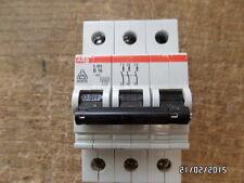 ABB S263 B16 3pol. Sicherungsautomat Leitungsschutzschalter oder  B10