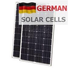 200w Pannelli solari moduli (100w+100w) per la ricarica batterie 12v/24v 200 WATT