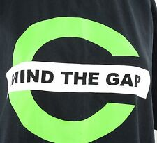 Chive Nation Mind The Gap XL Extra Large Black T-Shirt Sarcastic Humor Movements