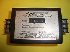 Control Concepts Islatrol Plus IC+105 Active Tracking Filter Used