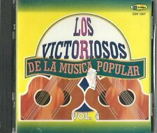 Los Victoriosos De La Musica Popular Volume 4 Latin Music CD New