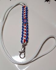 Chicago Cubs Paracord Lanyard or (Bracelet or Key Chain) 2016 World Champions!