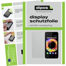 2x Wiko Sunset 2 Schutzfolie matt Displayschutzfolie Sunset2 Folie dipos