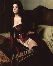 AUTOGRAPHE SUR PHOTO 20 x 25 de Anne CHARRIER (signed in person)