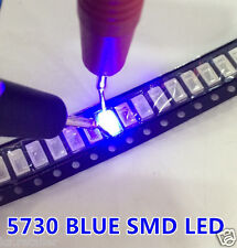 50 pcs SMD SMT 5730/5630 LED Chip Bulb Diode | Blue 460-470NM