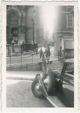 PHOTO ANCIENNE - VINTAGE SNAPSHOT -VOITURE AUTOMOBILE TRACTION CITROËN MARSEILLE