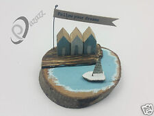 East Of India Quayside Follow Your Dreams Wooden Ornament