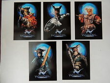 WARRIORS OF VIRTUE VERY RARE 1996 TARGET 5 CARD SET LAI TSUN YEE CHI YUN