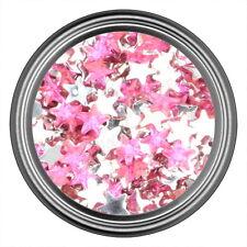 Dark Pink Star Rhinestone Gems Flatback Face Art Nail Art Jewels Decoration