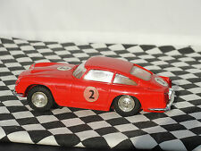 SCALEXTRIC ASTON MARTIN DB4 GT C68 #2 RED  1960'S  1:32  USED UNBOXED