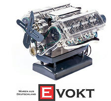 Franzis Learning Package Audi V8 Engine Fully Functional Model Kit Genuine New