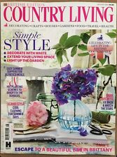 Country Living British Edition Simple Style Summer Supper Aug 2015 FREE SHIPPING