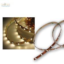 1m luz LED banda blanco cálido 12v, rayas SMD banda flexible, barra de luz Stripe