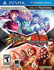 NEW PS Vita video game: Street Fighter X Tekken (Playstation Vita)