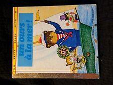 Un petit livre d'or - Un ours à la mer ! (105R16)