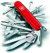 1.6795.T VICTORINOX SWISS ARMY POCKET KNIFE SWISS CHAMP 33 TRANSLUCENT 16795T