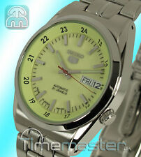 SEIKO 5 MEN'S AUTOMATIC STRONG LUMIBRITE FACE SNK573J1 SNK573