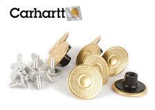 Carhartt Replacement suspender buttons 8 Piece A135 Brass US Seller