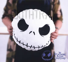 Disney Nightmare Before Christmas Jack Skellington Face Stuffed Plush Pillow Toy