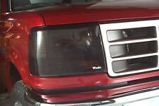 Smoke Head Light Covers for 1991 - 1996 Ford Escort