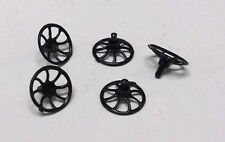 9020-10 Plastic Brake Wheel w/pin for Lionel O/O27 Gauge Freight Cars, 5 Pcs.