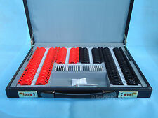 232 pcs Trial lens set Optical trial lens case Free trial frame Leather case