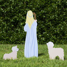 Outdoor Nativity Store Classic Outdoor Nativity Set - Shepherd and Sheep