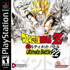 Dragon Ball Z: Ultimate Battle 22 US Ver PS New Playstation