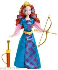 Disney Princess Brave Merida Doll Colorful Curls Merida W/ Colors Hair New