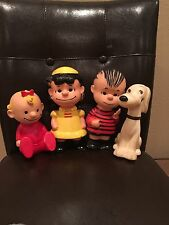 VINTAGE PEANUTS GANG UNITED FEATURE SYNDICATE SNOOPY LINUS LUCY & MORE