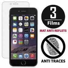 Lot de 3 Films protection écran screens - MAT ANTI REFLETS - pour Iphone 6 / 6S