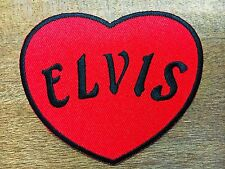 Elvis Presley Sew Iron On Patch American Singer King of Rock n Roll Embroidered