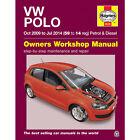 VW Polo 1.2 1.4 Petrol 1.2 1.6 Diesel 2009-2014 Haynes Workshop Manual