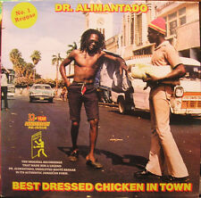Dr. Alimantado - Best Dressed Chicken In Town LP - REGGAE CLASSIC - new copy