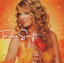 TAYLOR SWIFT BEAUTIFUL EYES CD+DVD Jewel Case+Poster+GIFT. RARE & OUT OF PRINT
