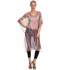 NEW MISSONI Peach Caftan Poncho/Swimsuit Cover Up  Size : OS