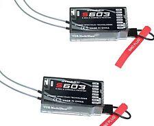 2X Empfänger DSMX und DSM2 Spektrum Kompatibel ORIGINAL Storm S603 Receiver...