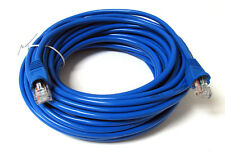 75FT 75 FT RJ45 CAT5 CAT 5 HIGH SPEED ETHERNET LAN NETWORK BLUE PATCH CABLE