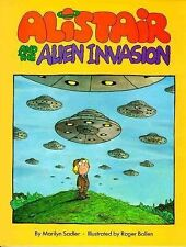 Alistair and the Alien Invasion-ExLibrary