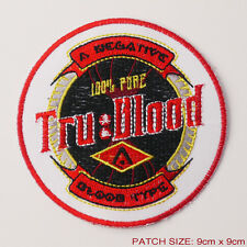 "TRUE BLOOW ""TRU BLOOD"" - Series Vampires Blood Substiture Logo Patch"