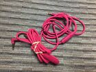 2 Authentic Beats By Dr Dre Solo HD Drenched Control Talk Cables - Pink - Read