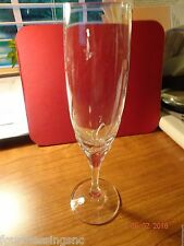 MIKASA LA BELLE CRYSTAL CHAMPAGNE FLUTE-NEW CONDITION-HAND CRAFTED-4 OZ.