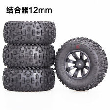 PP 4*Grip Tires Tyre Wheel Rim for 1/10 RC Off Road Car Short Course Buggy #004A