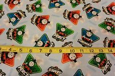 Thomas the Tank Fast Friends Trains Toss Allover Cotton Fabric