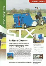 WESSEX STX PADDOCK CLEANERS SALES SHEET