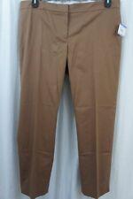 Kasper Separates Dress Pants Sz 18 Teak Brown Desert Oasis Career Business Pant