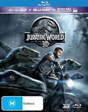 Jurassic World 2D Blu-ray ONLY (NO 3D, 2015)